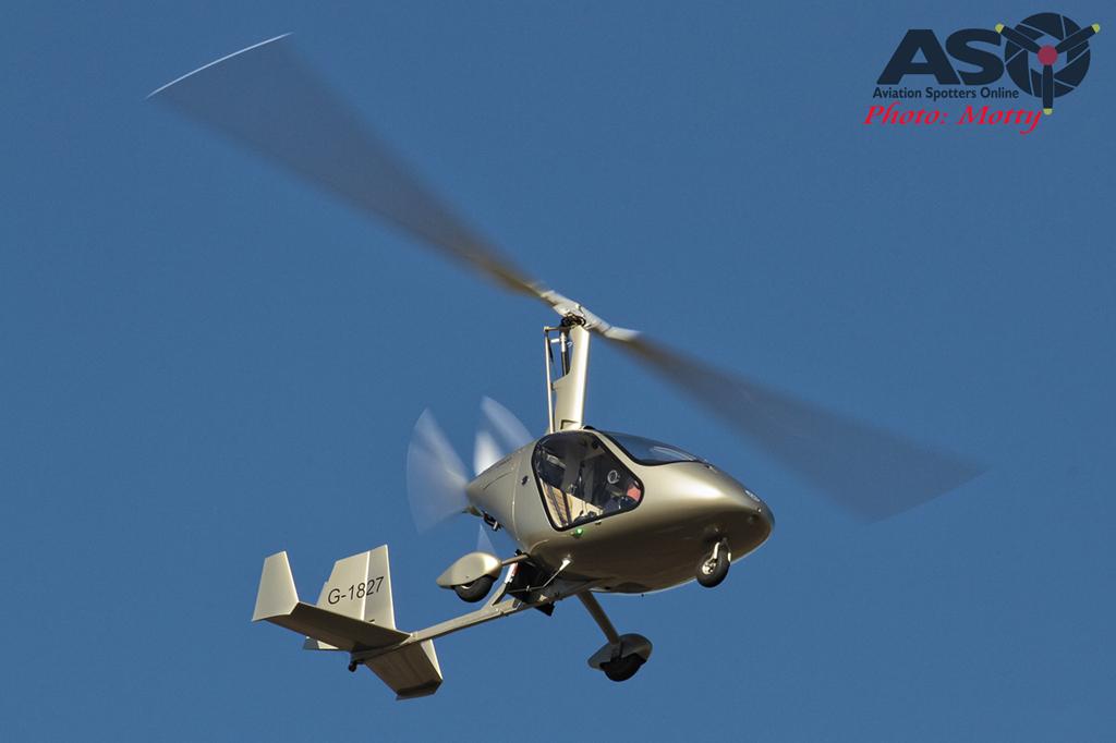 Mottys Gyrocopter G-1827 0002 HVA 2015