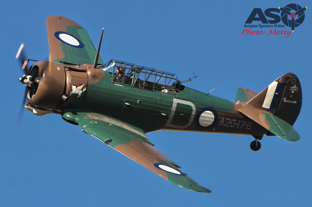 Mottys Hunter Valley Airshow 2015 Wirraway VH-WWY 0003