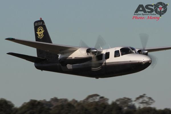 Mottys Aerocommander VH-CAX 0002 HVA 2015