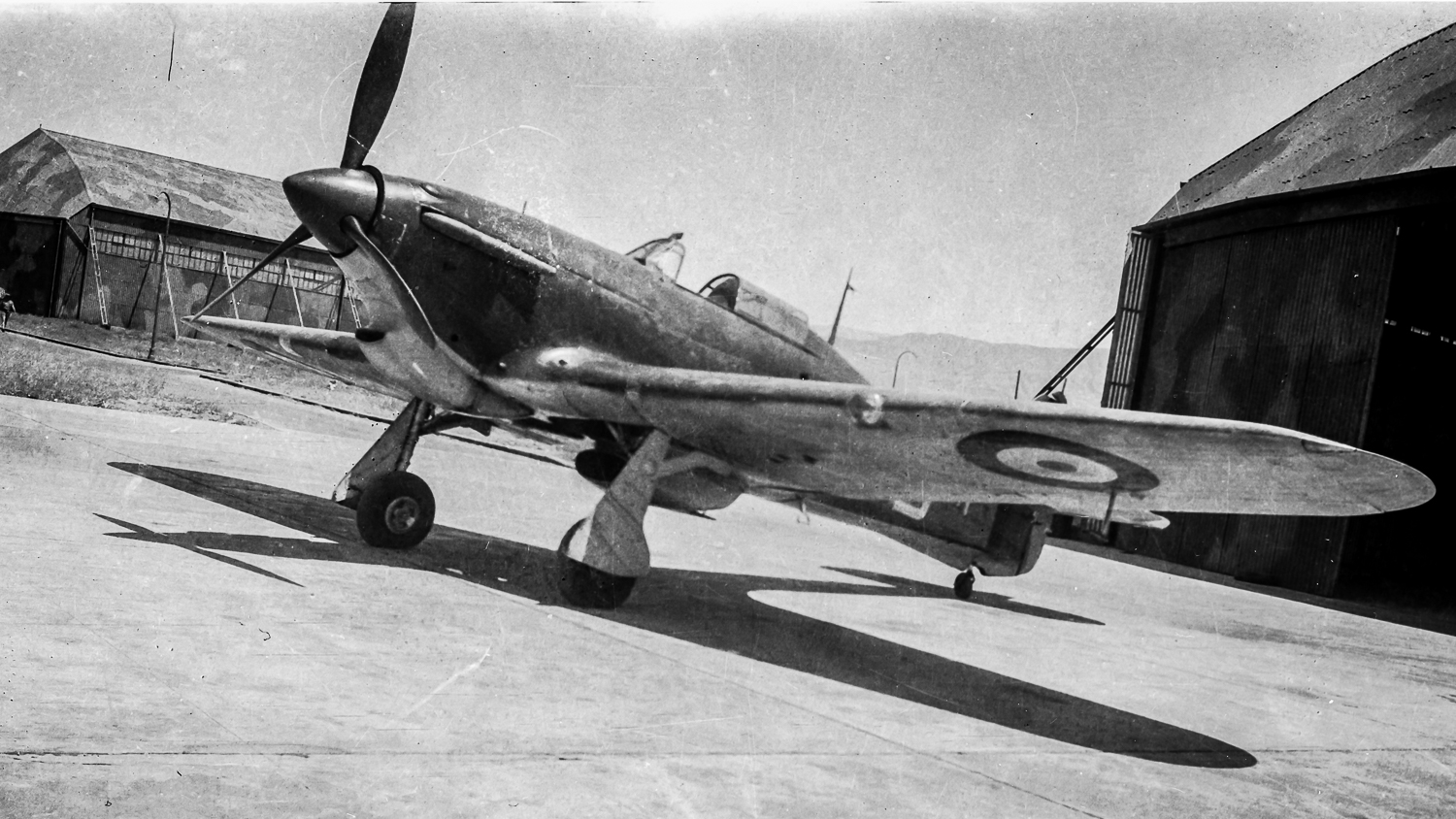 RAAF 3SQN Hurricane in the Desert campaign