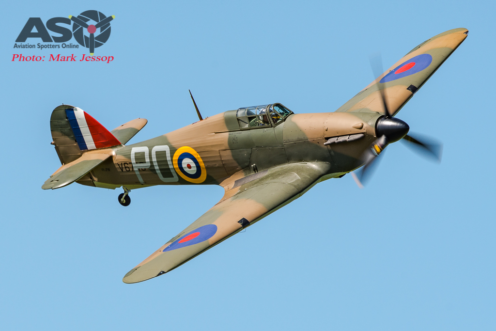 Hurricane 1st flight