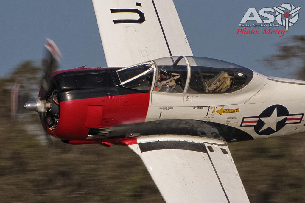 Mottys Luskintyre November 2016- 3541-T-28 Trojan VH-FNO-001-ASO