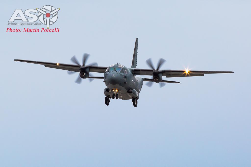 RAAF Alenia C-27J Spartan A34-001