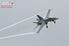 F/A-18 Hornet A21-35 Mattara display.