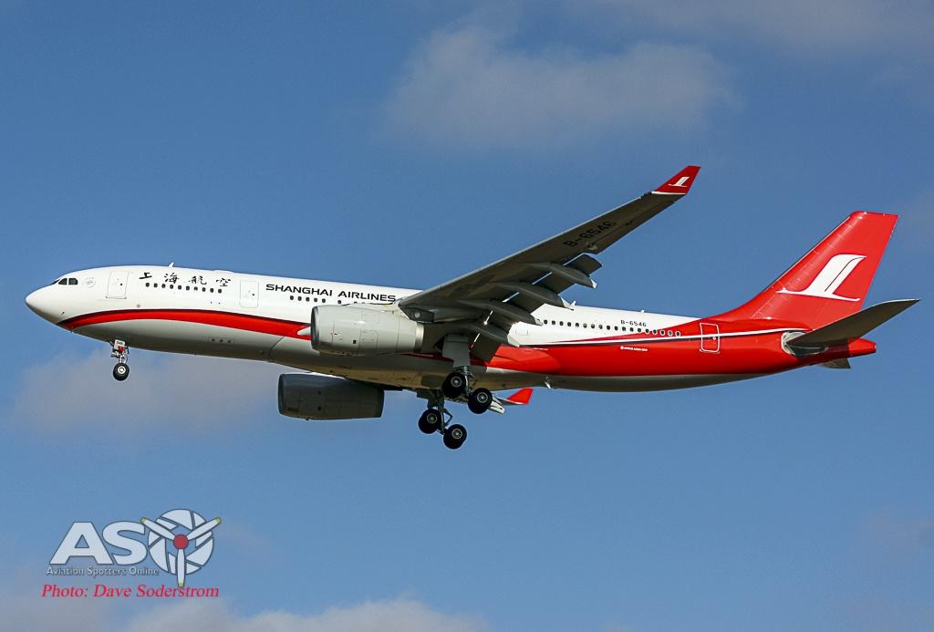 Shanghai A330 ASO