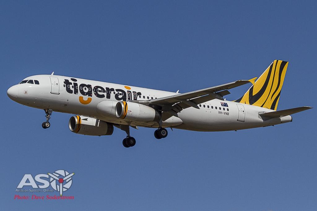 Tigerair A320 ASO