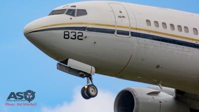 USAF C-40 Clippera