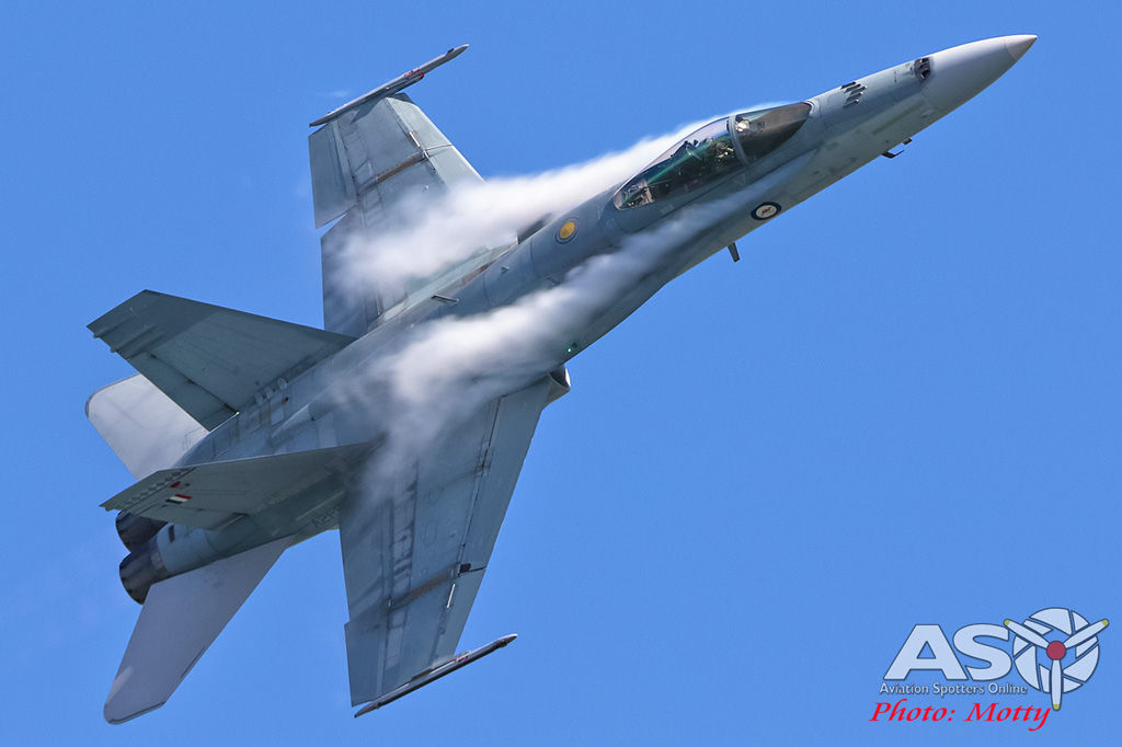 Mottys-Newcstle Coats Hire V8 Supercars RAAF Hornet Display-00647-ASO