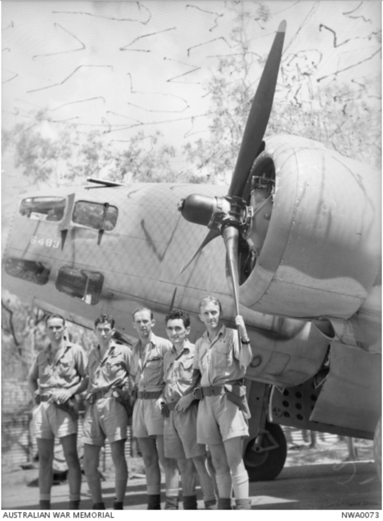 No 13 sqn Crew and their Hudson