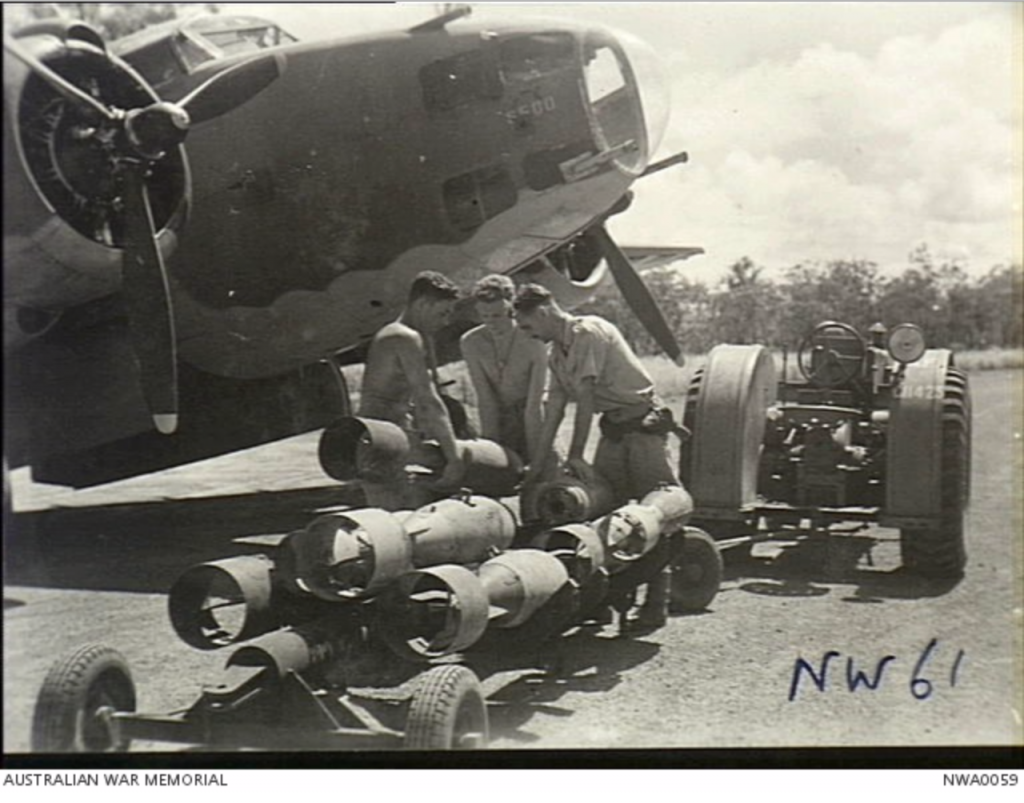 Arming up a No 13 Sqn Hudson
