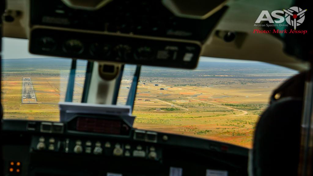 Exercise Northern Shield sat king air flight-10