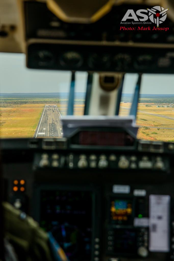 Exercise Northern Shield sat king air flight-12