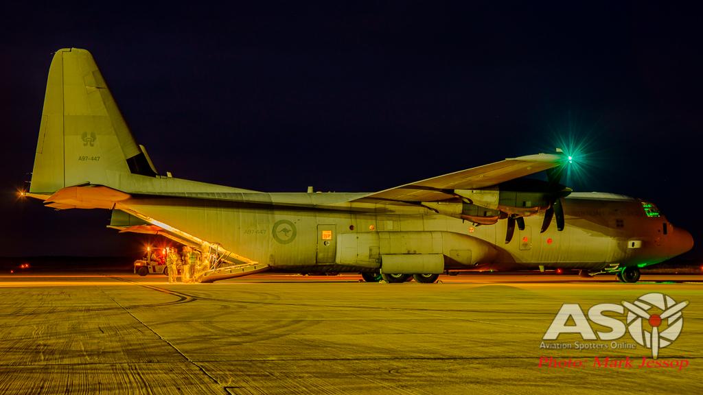 Exercise Northern Shield Sunday night Hercules-15