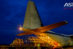 Exercise Northern Shield Sunday night Hercules-Cargo move