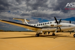 Exercise Northern Shield sat king air flight-15