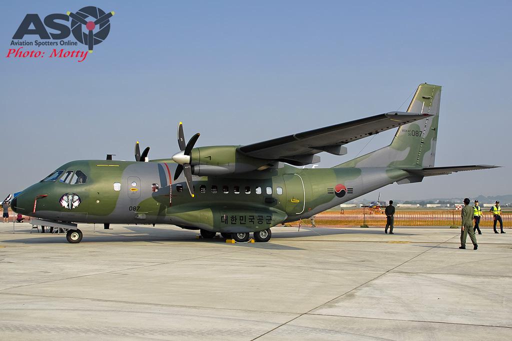 Mottys Osan Air Power Day 2016 ROKAF CN-235 30-087 0010-ASO