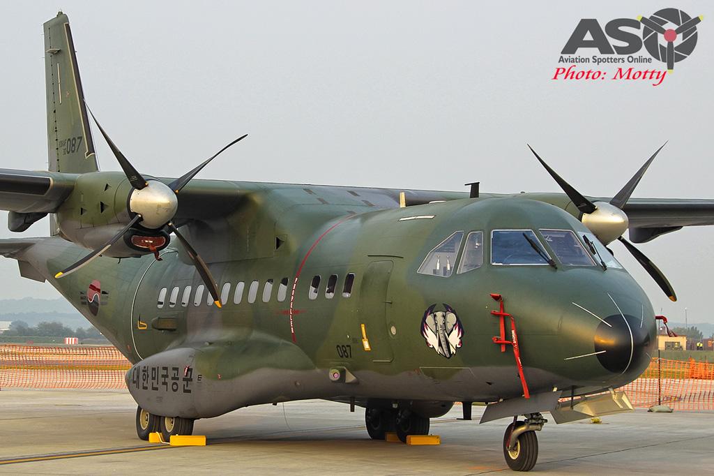 Mottys Osan Air Power Day 2016 ROKAF CN-235 30-087 0020-ASO