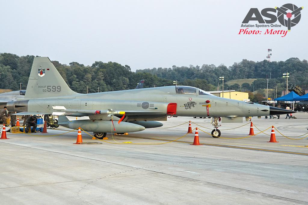 Mottys Osan Air Power Day 2016 ROKAF KF-5E 50-599 0020-ASO