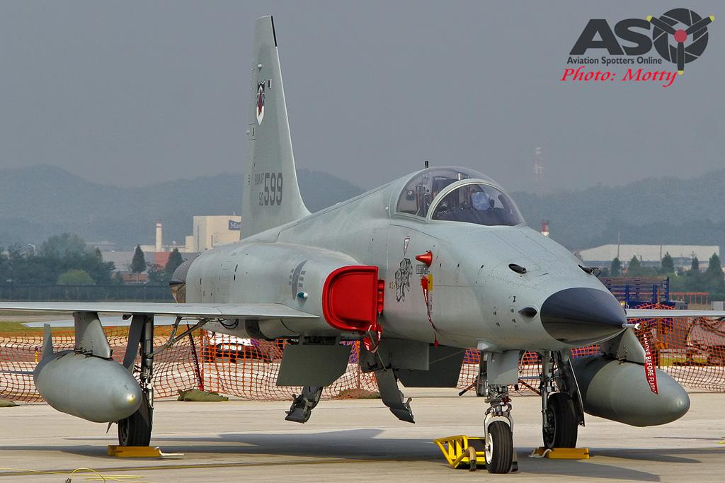 Mottys Osan Air Power Day 2016 ROKAF KF-5E 50-599 0040-ASO
