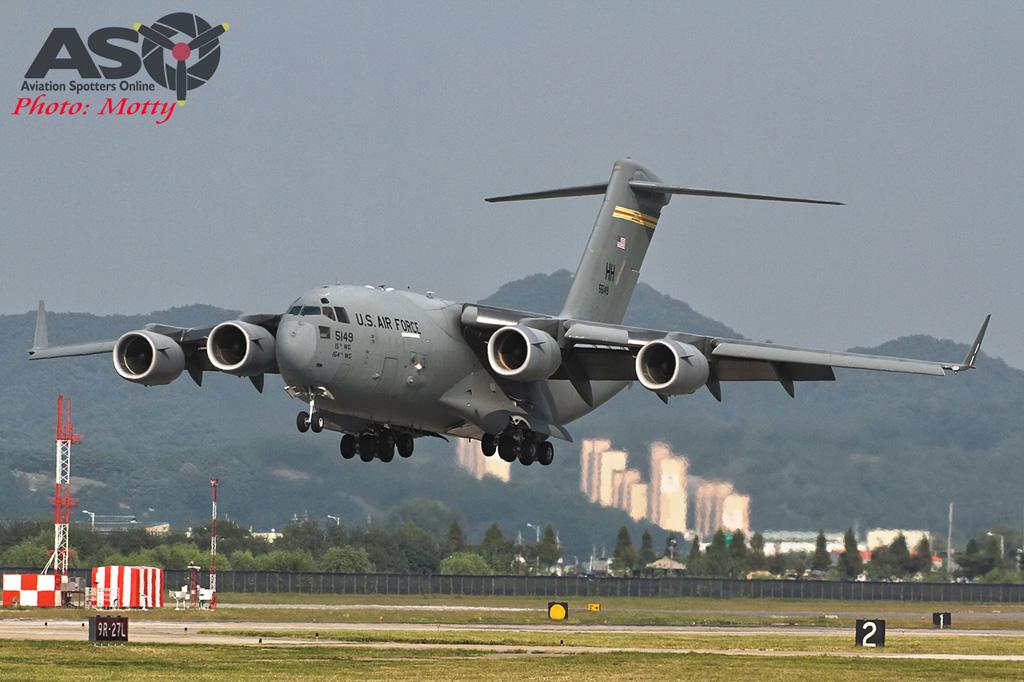 Mottys Osan Air Power Day 2016 USAF C-17 HH 55149 0050-ASO