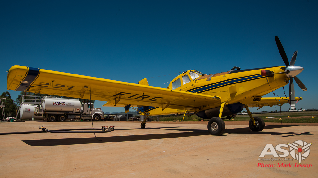 Pays Air Service Fire Fighting aircraft-AT802 Air Tractor