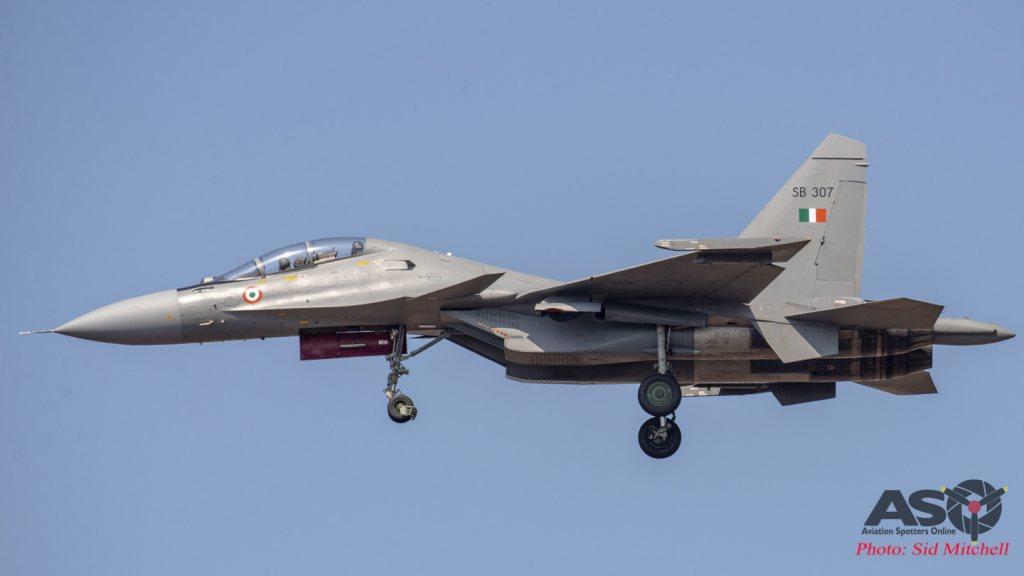 Su-30MKI inbound