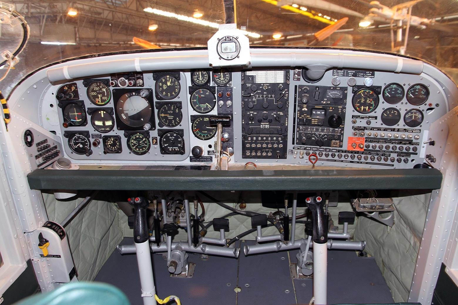 Porter cockpit