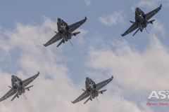 3 Squadron fly past RAAF Williamtown