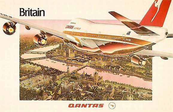 Qantas-travel-poster-Britain_-Qantas-birds-eye-View-of…-Prints-Posters-Art-Carters-Price-Guide-to-Antiques-and-Collectables