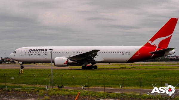 VH-OGU Boeing 767 QANTAS