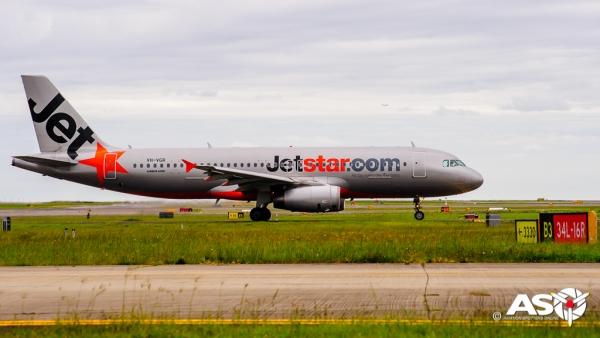 VH-VGR Airbus A320 Jetstar