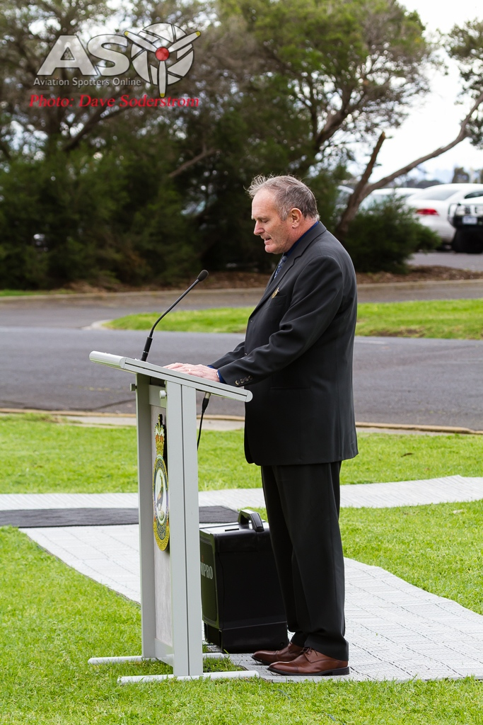 Mr Howard Frank President of the Friends of the RAAF Museum, recounts the real aircrafts history and 79 Squadrons history.
