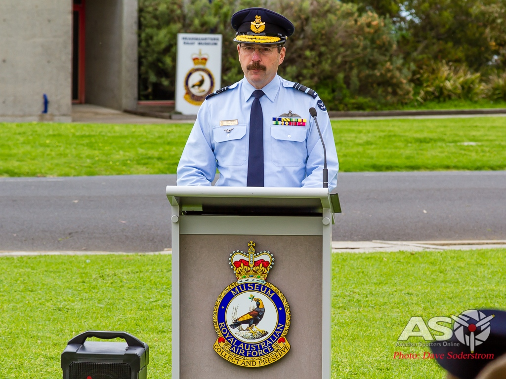 Chief of the Air Force Air Marshal Leo Davies.