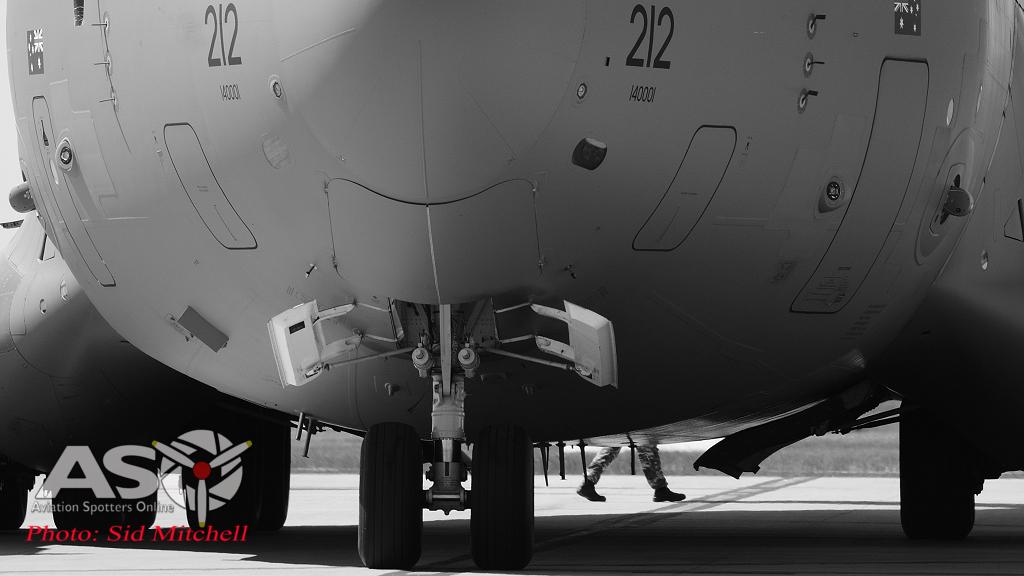 C-17 parked RAAF Darwin