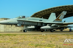 F/A-18A Hornet A21-25 2OCU taxing out for another mission.