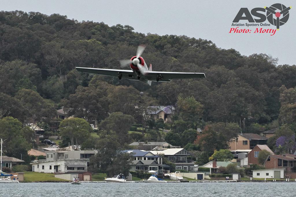 Mottys Rathmines 2016 Aerohunter Yak-52 VH-FRI 0040-ASO
