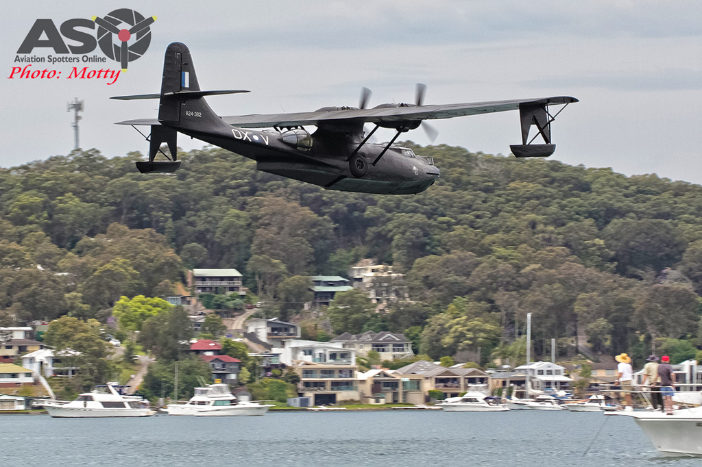 Mottys Rathmines 2016 HARS PBY Catalina VH-PBZ 0160-ASO