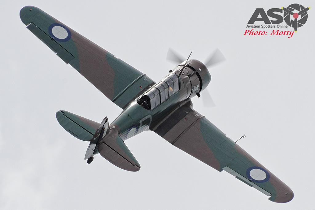 Mottys Rathmines 2016 Paul Bennet Airshows Wirraway VH-WWY 0050-ASO