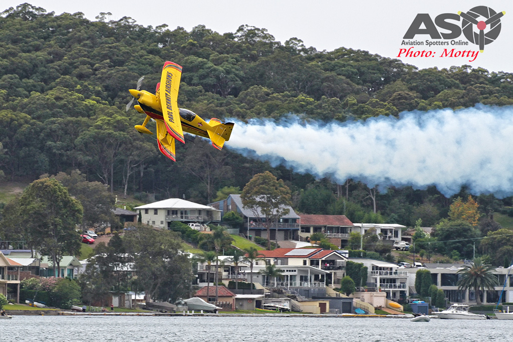 Mottys Rathmines 2016 Paul Bennet Airshows Wolf Pitts Pro VH-PVB 0080-ASO