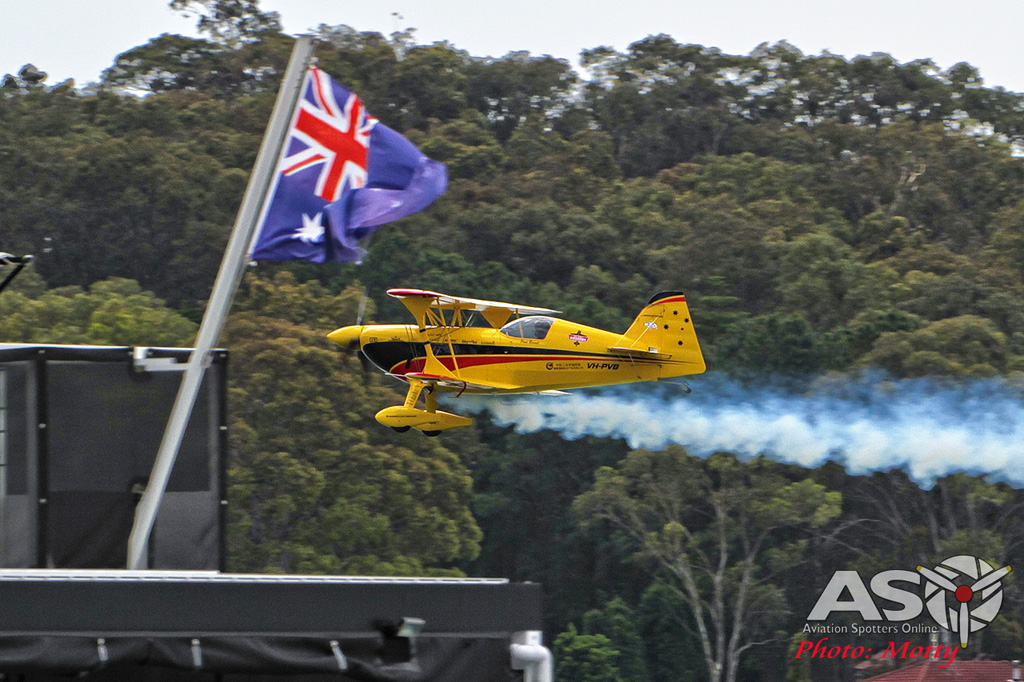 Mottys Rathmines 2016 Paul Bennet Airshows Wolf Pitts Pro VH-PVB 0110-ASO