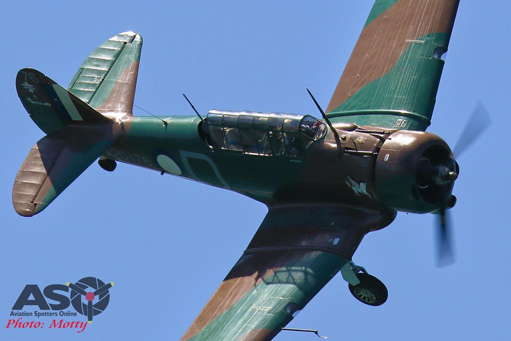 Mottys-Rathmines-2017-Paul-Bennet-Airshows-Wirraway-VH-WWY-2072-ASO
