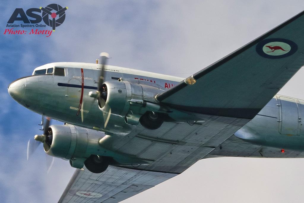 Mottys-Rathmines-Catalina-Festival-2019-HARS-C-47-Dakota-VH-AES-VH-EAF-03901-ASO
