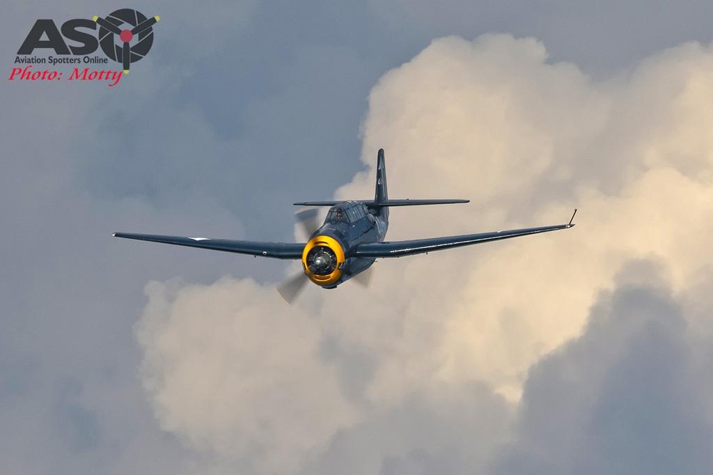 Mottys-Rathmines-Catalina-Festival-2019-Paul-Bennet-Airshows-Grumman-Avenger-VH-MML-05673-ASO