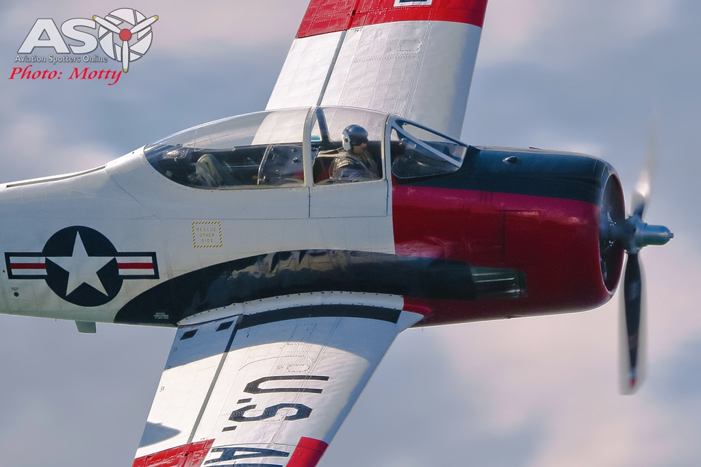 Mottys-Rathmines-Catalina-Festival-2019-Paul-Bennet-Airshows-T-28-Trojan-VH-FNO-02243-ASO