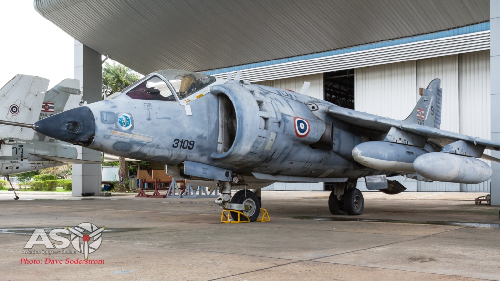 RTAF Museum RTN AV-8A Harrier ASO (1 of 1)