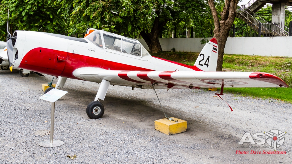 RTAF DHC-1 Chipmunk 1 ASO (1 of 1)