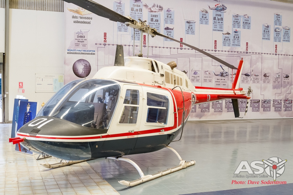 RTAF Museum Bell 206B ASO (1 of 1)