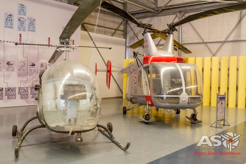 RTAF Museum Bell 47 & Kaman UH34B Husky ASO (1 of 1)