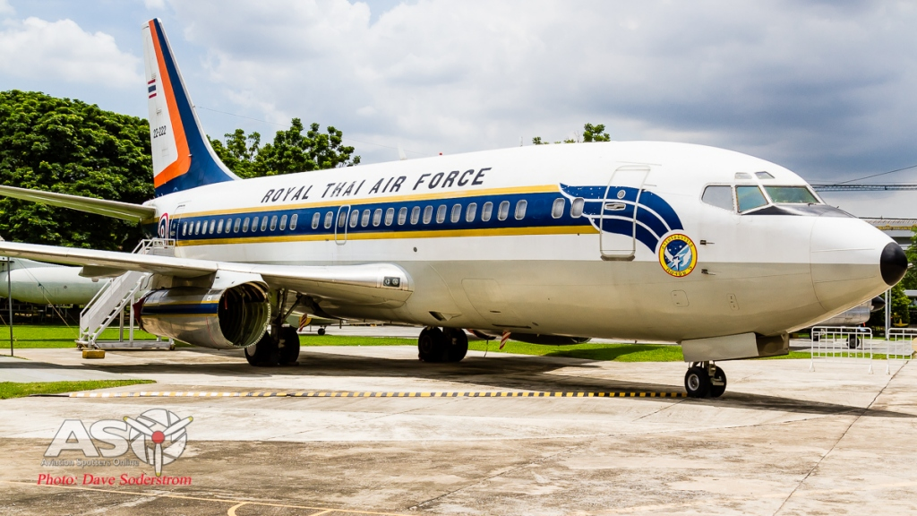 RTAF Museum Boeing 737-200 ASO (1 of 1)