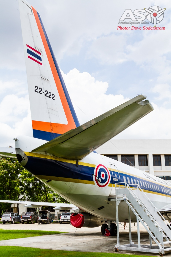 RTAF Museum Boeing 737-200 ASO 2 (1 of 1)